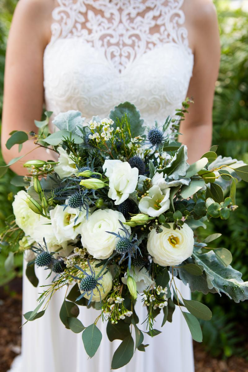 Isabela's wedding bouquet
