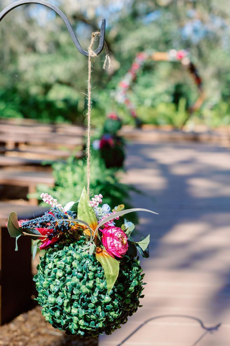 Enchanting wedding ceremony details