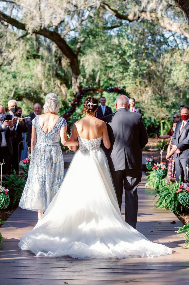 Forest Florida wedding