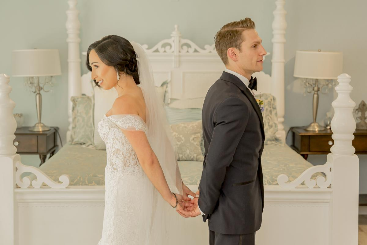 Alexa and Steven's first look