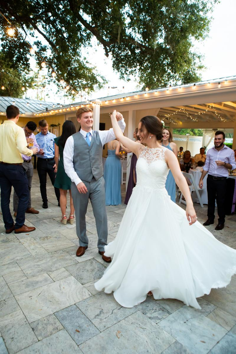 Dancing the night away at the French Country Inn