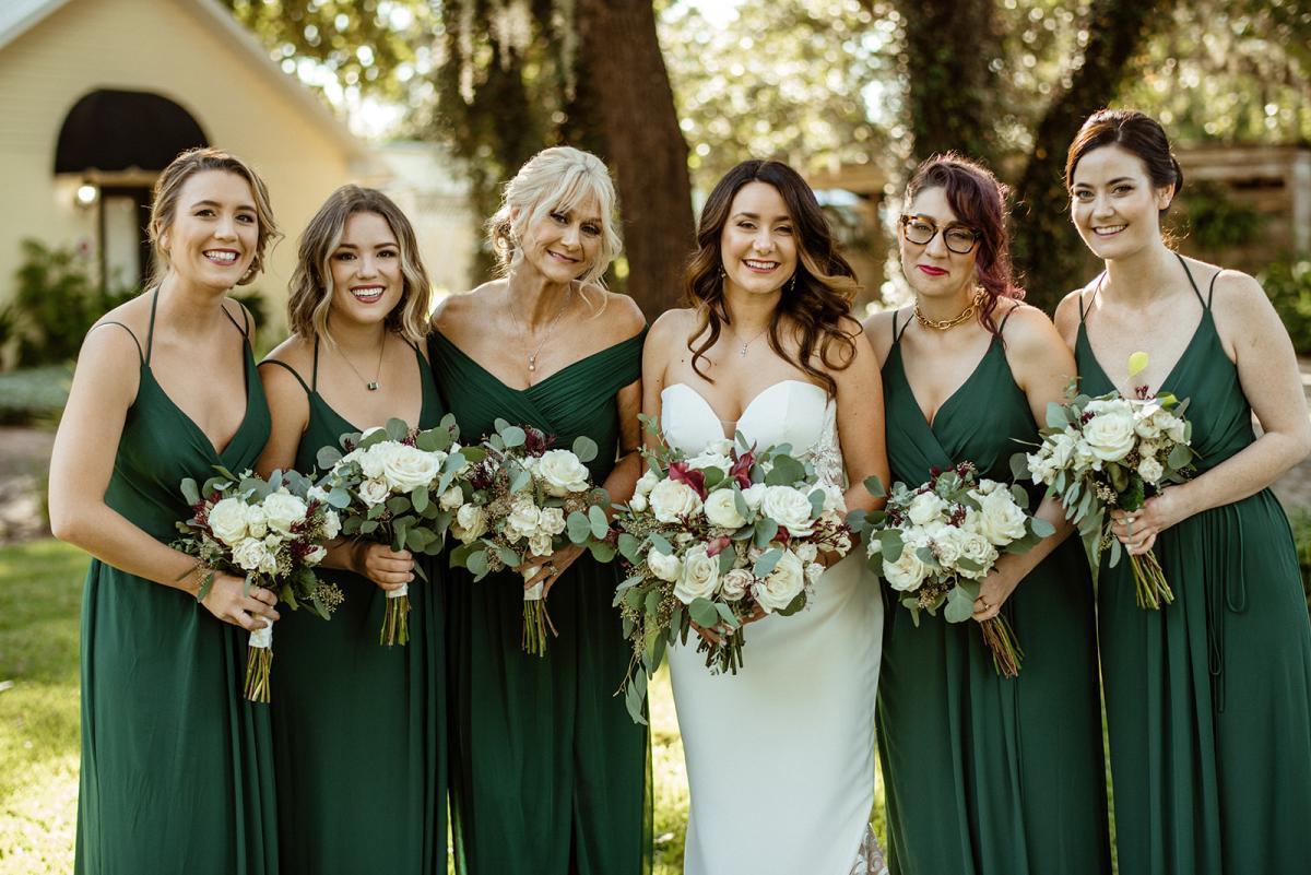 Savannah and her bridesmaids