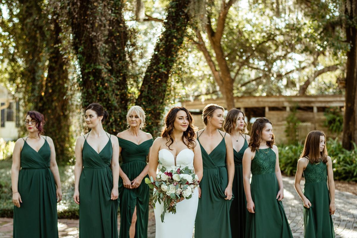 Savannah's bride tribe