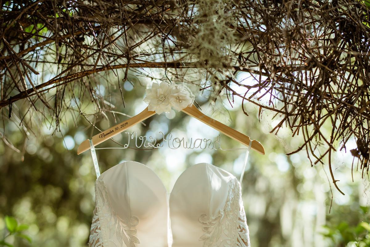Savannah's wedding dress