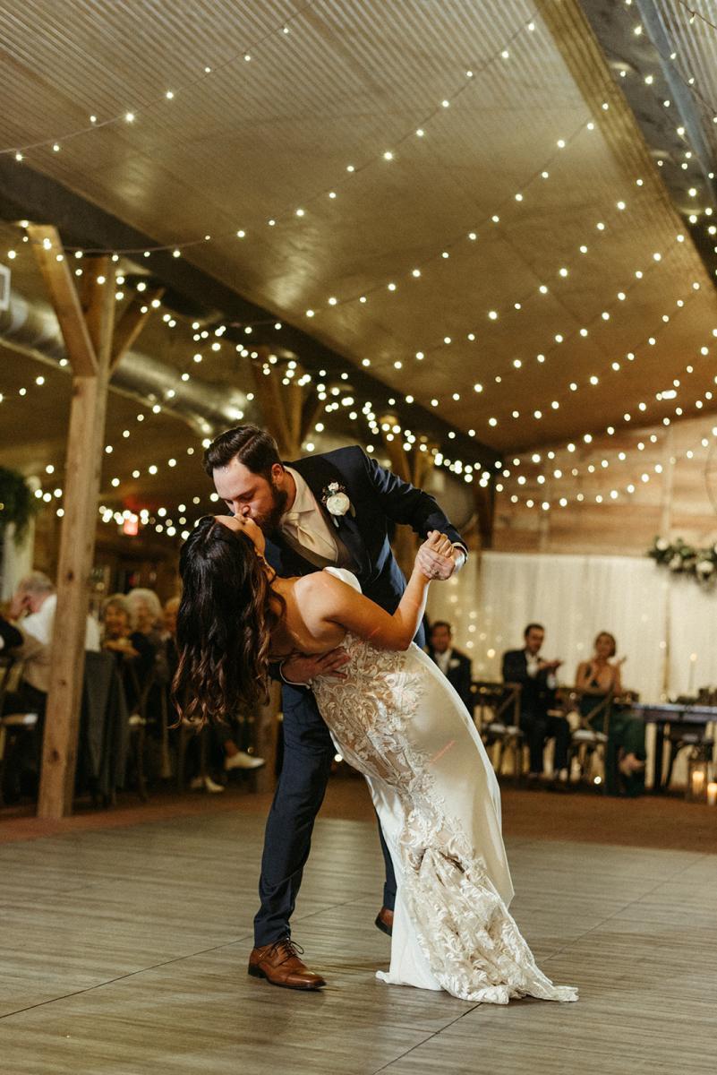 Dance floor dips