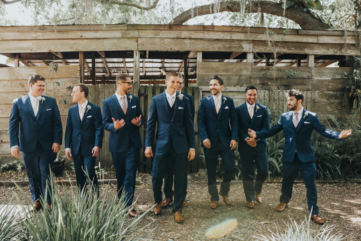 Sean and his groomsmen