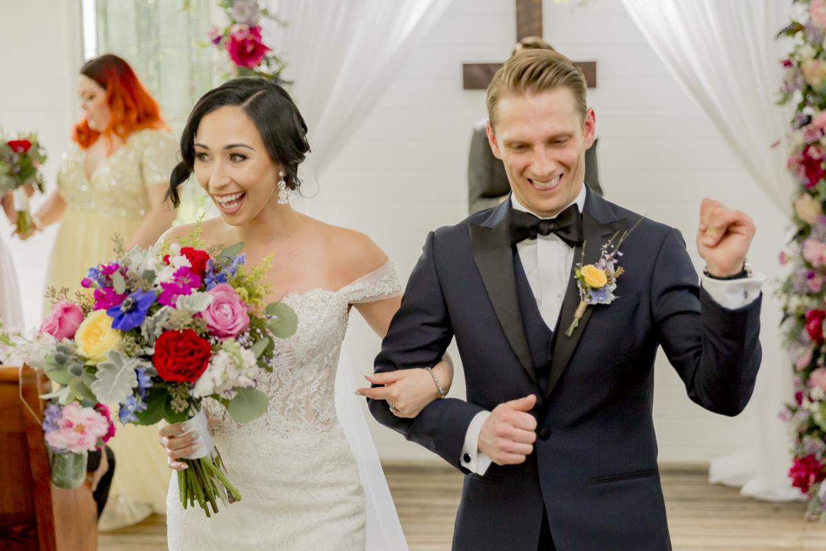Alexa and Steven are married!