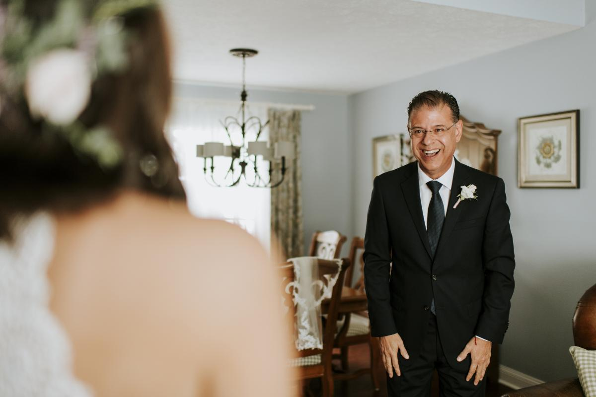 First look with Paola and her dad