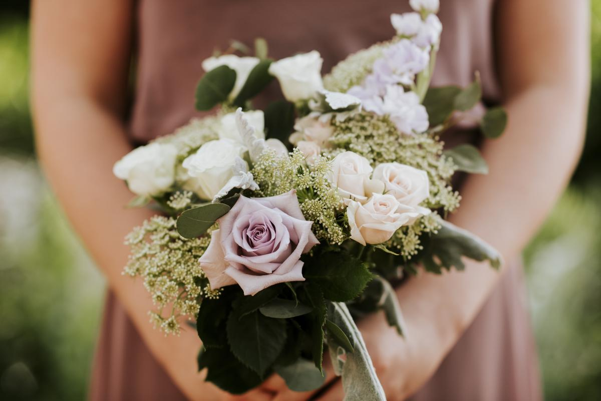 Bridesmaid flower bouquets by Alta Fleura
