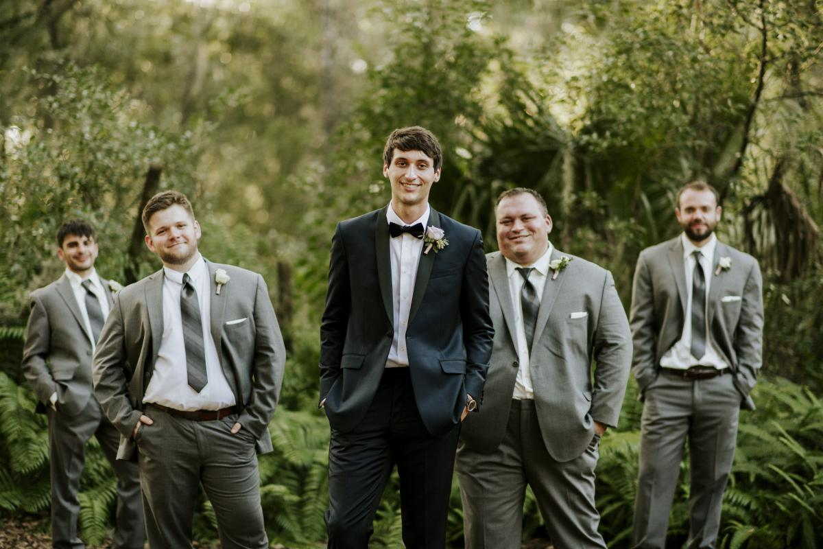 Jesse and his groomsmen