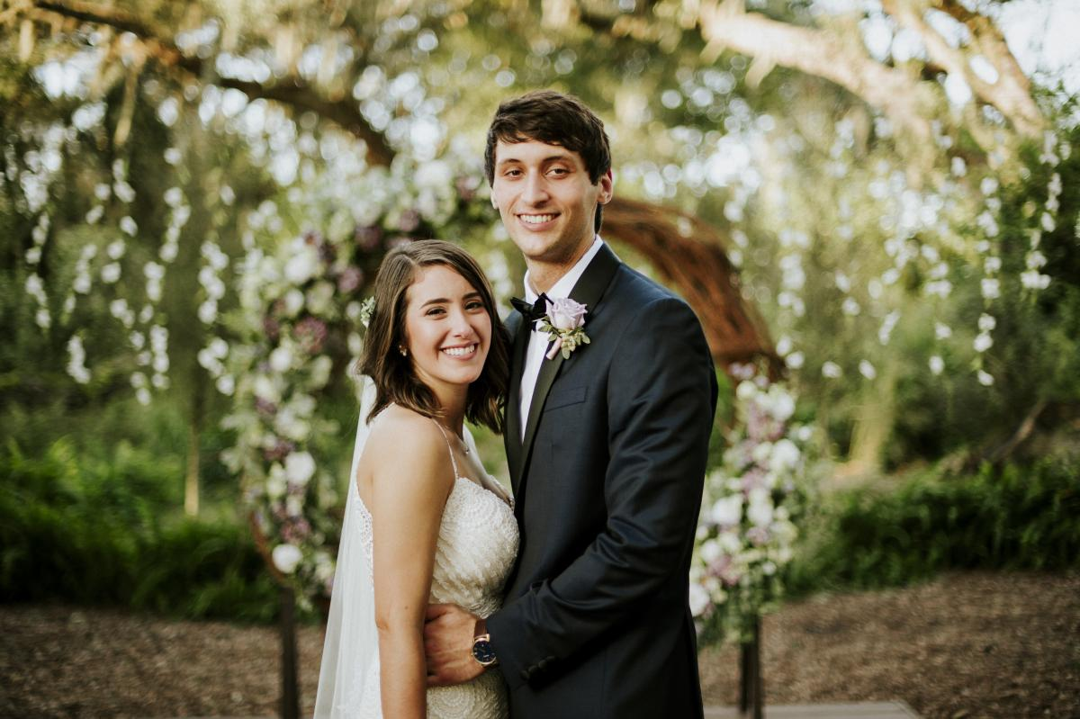 Paola and Jesse's sweetheart photo