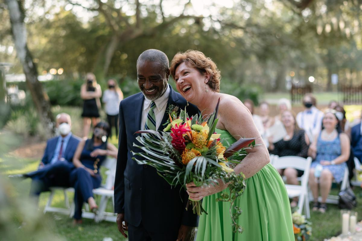 Rita and Daniel's romantic wedding ceremony