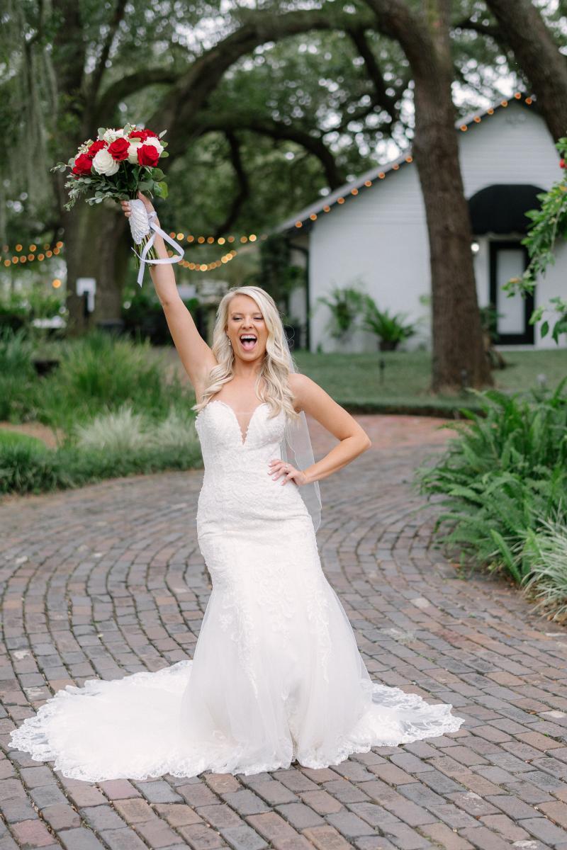 Logan was a fun bride!