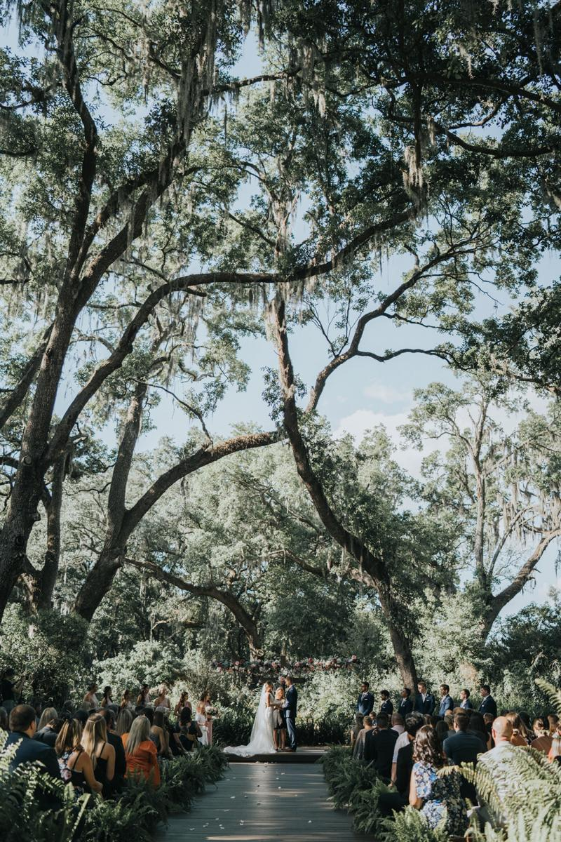 Sean & Emily's Enchanted Forest ceremony
