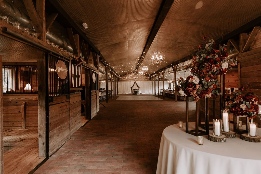 Inside the Carriage House Stable