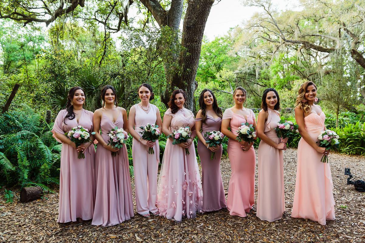 Andreina's bridesmaids