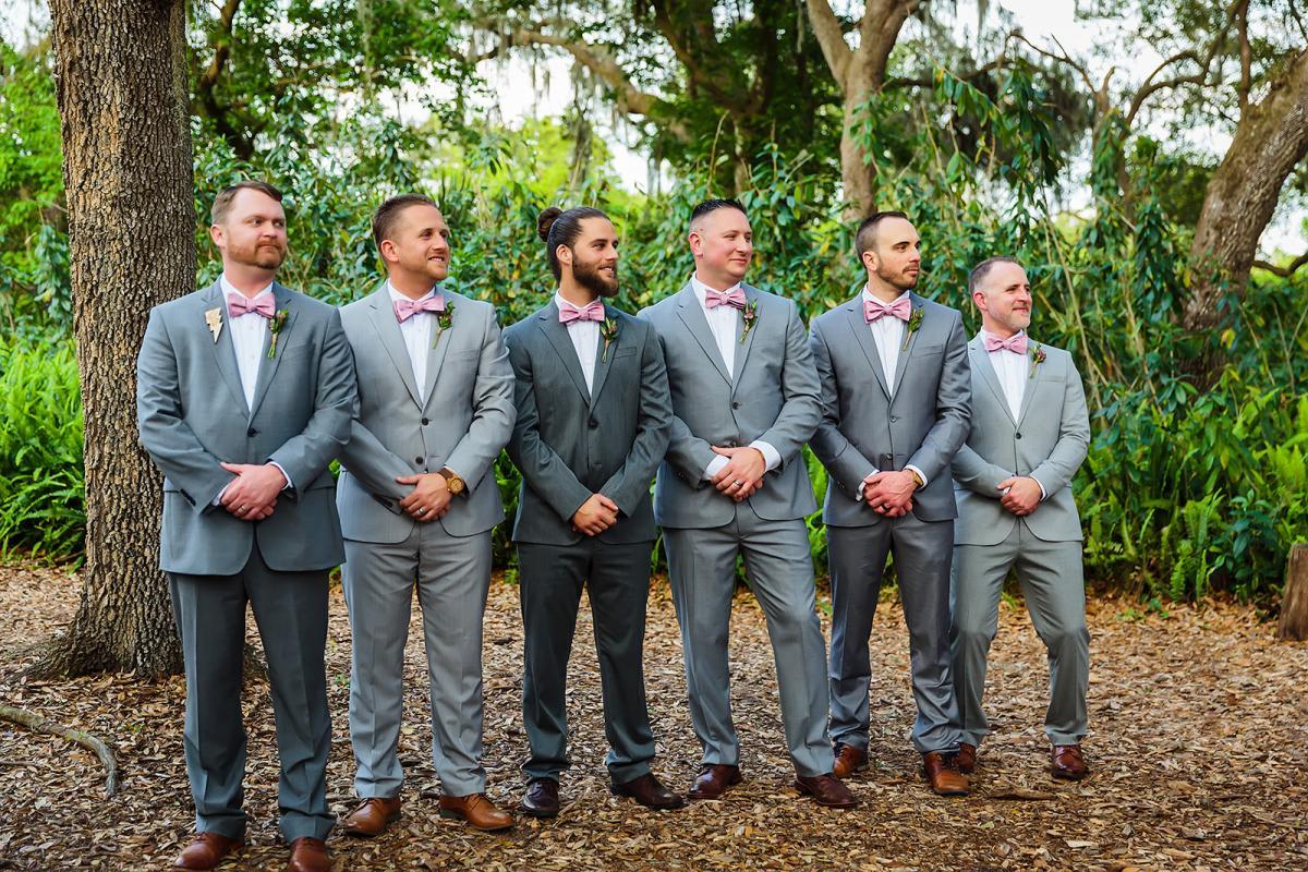 John's groomsmen