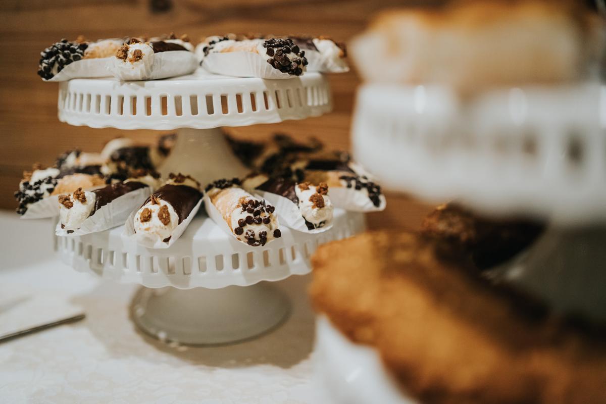 Sean & Emily's wedding desserts
