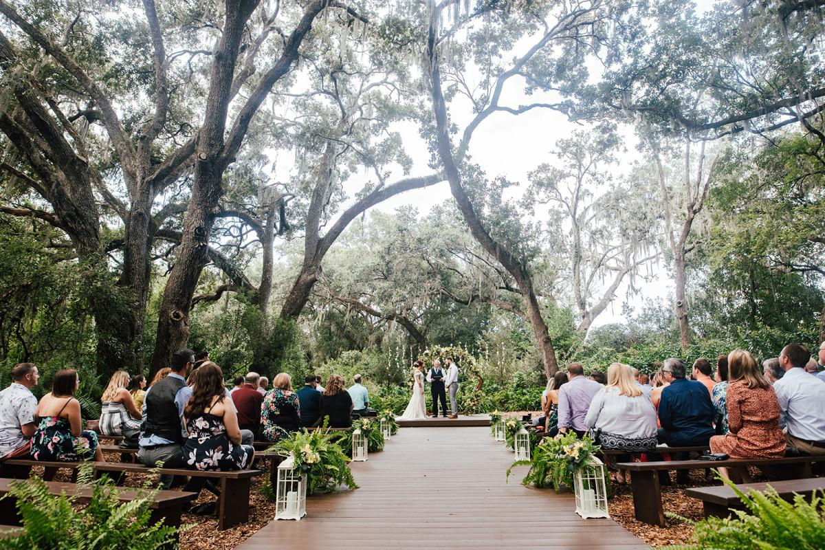 Amanda and Kyle's Enchanted Forest ceremony