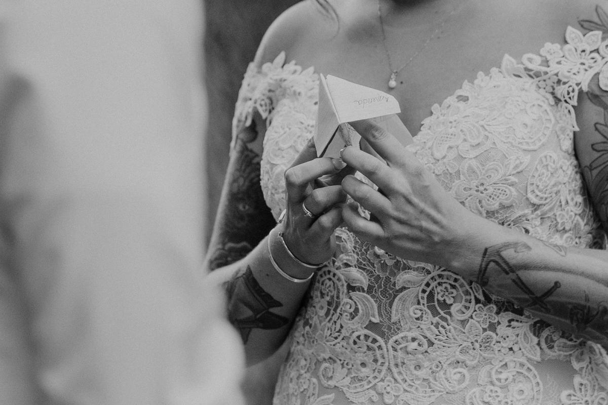 Personalized wedding ceremony idea