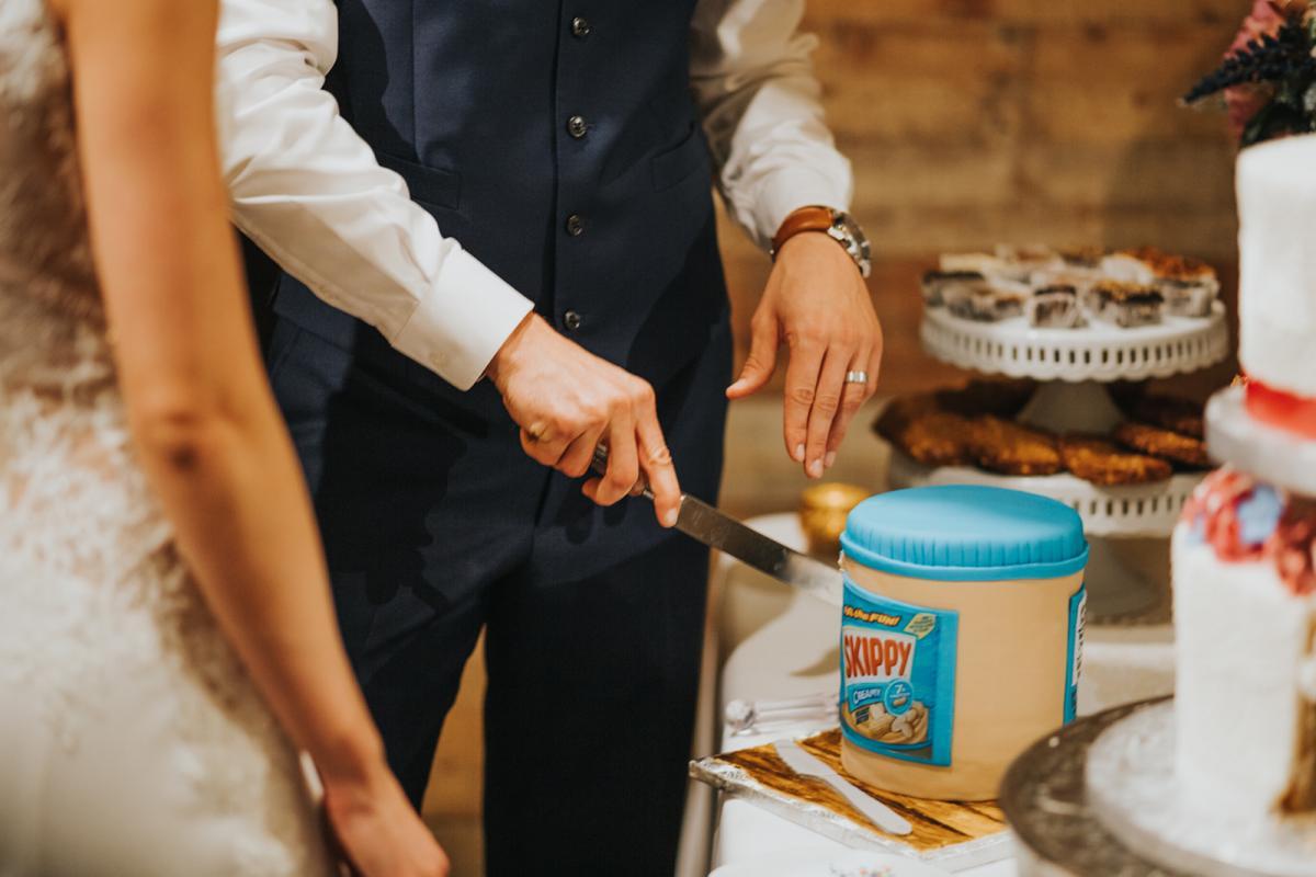 Sean's Skippy Peanut Butter groom cake