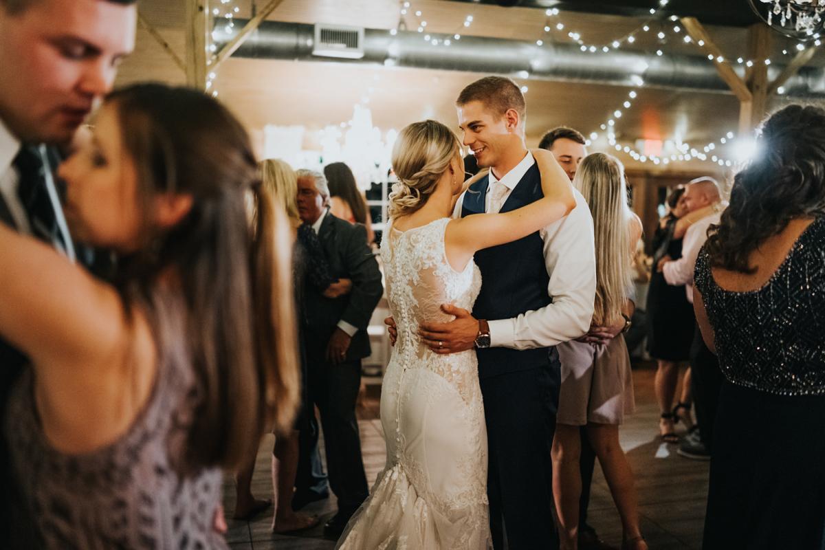 Sean and Emily dancing
