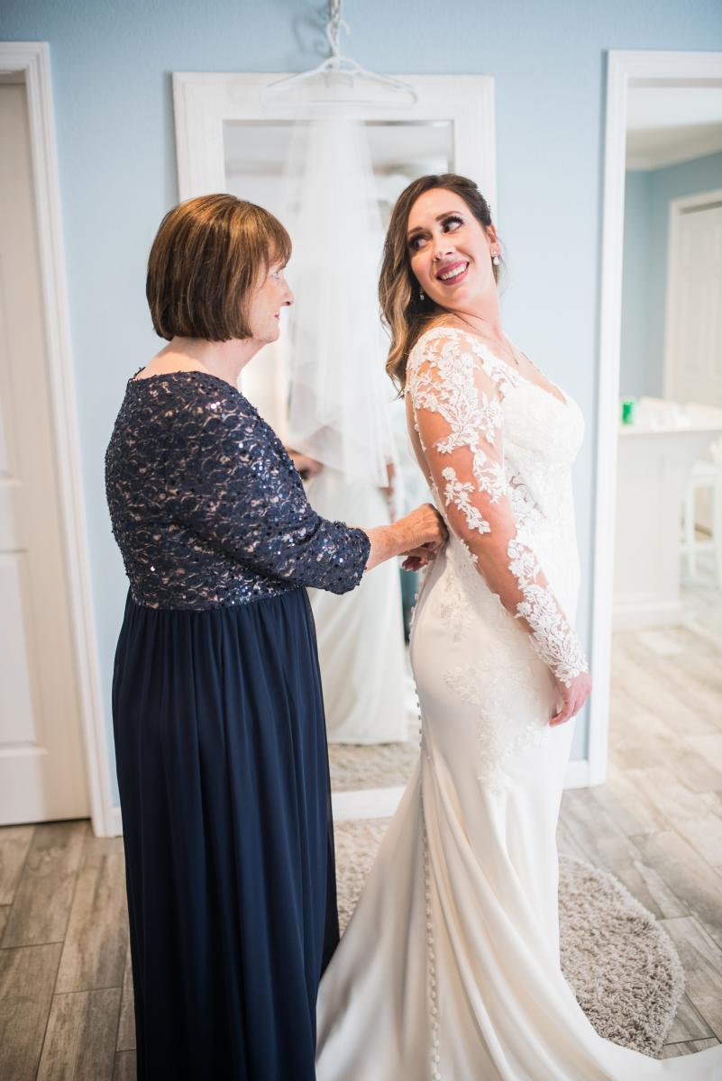Long sleeve wedding gowns