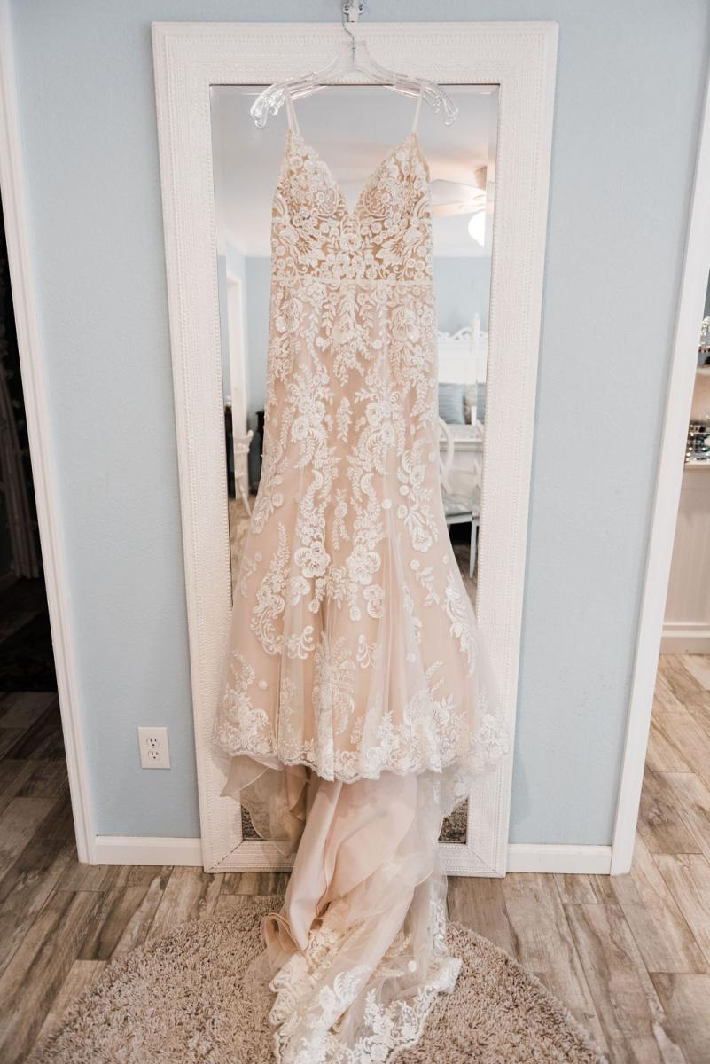 Morilee designed wedding gown