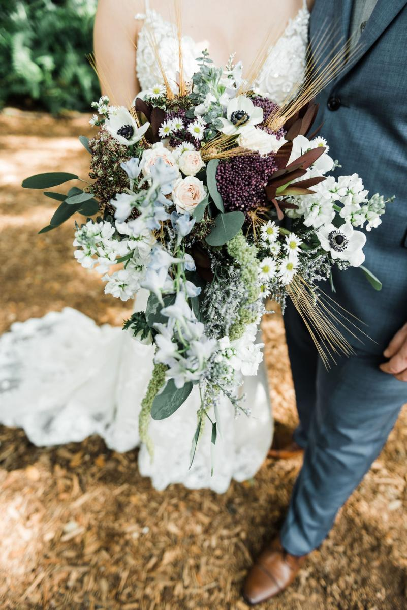 Enchanting bridal bouquet