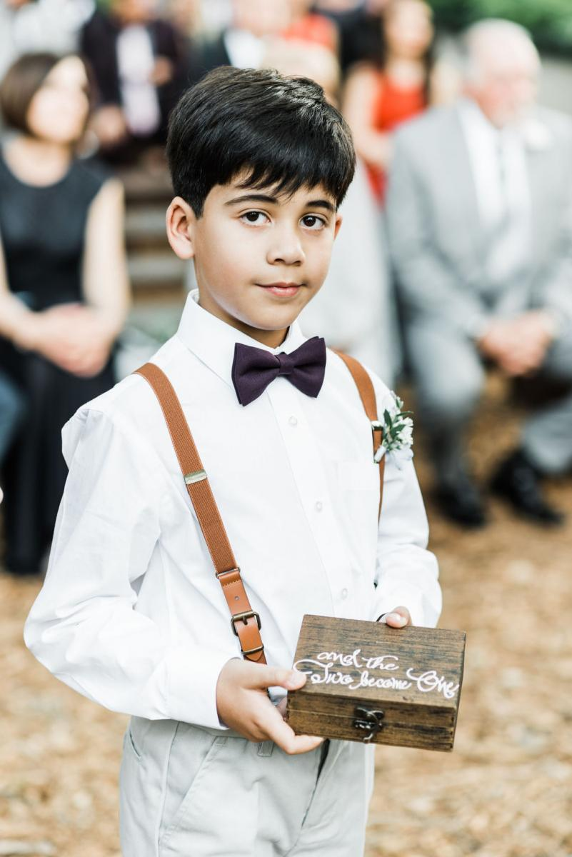 The cutest ring bearer