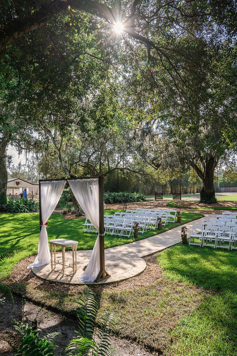Intimate wedding venue in Florida