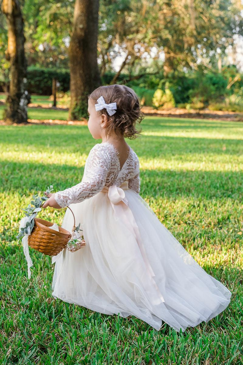 Sweet flower girl wedding dresses