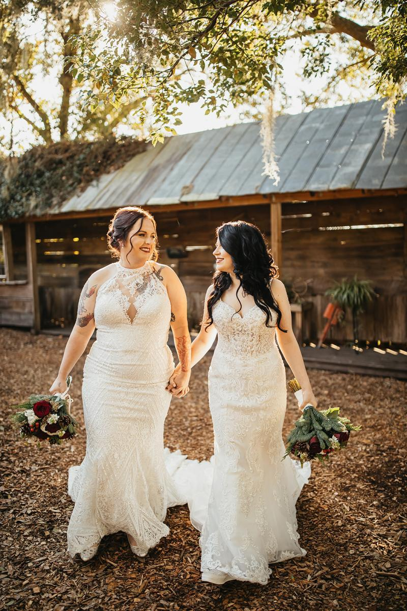 Two brides in love