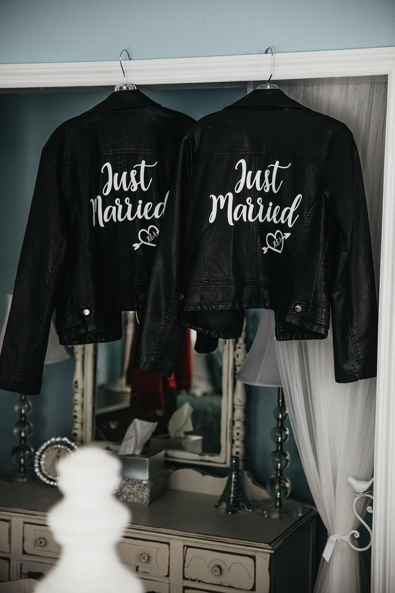 Bridal leather jackets