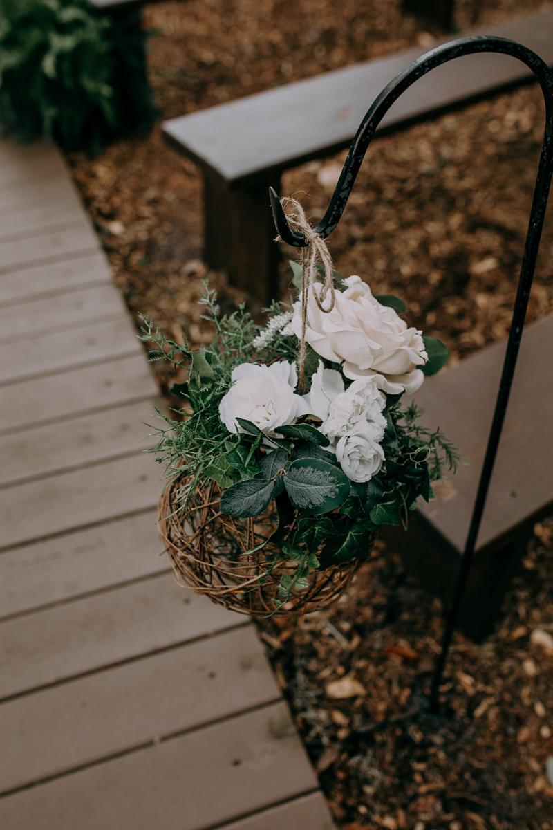Simplistic romantic wedding