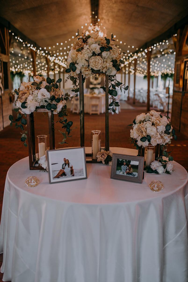 Romantic simplistic wedding ideas