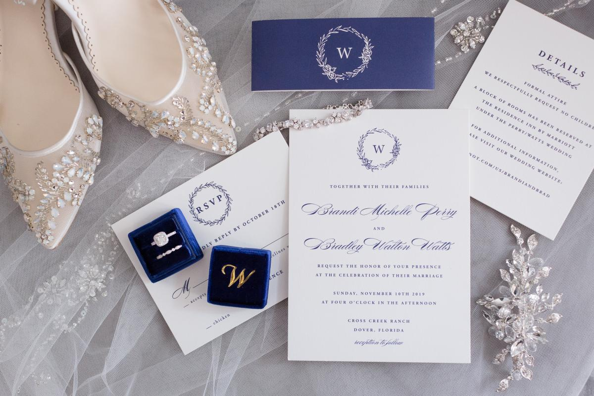 Wedding stationary and invitations