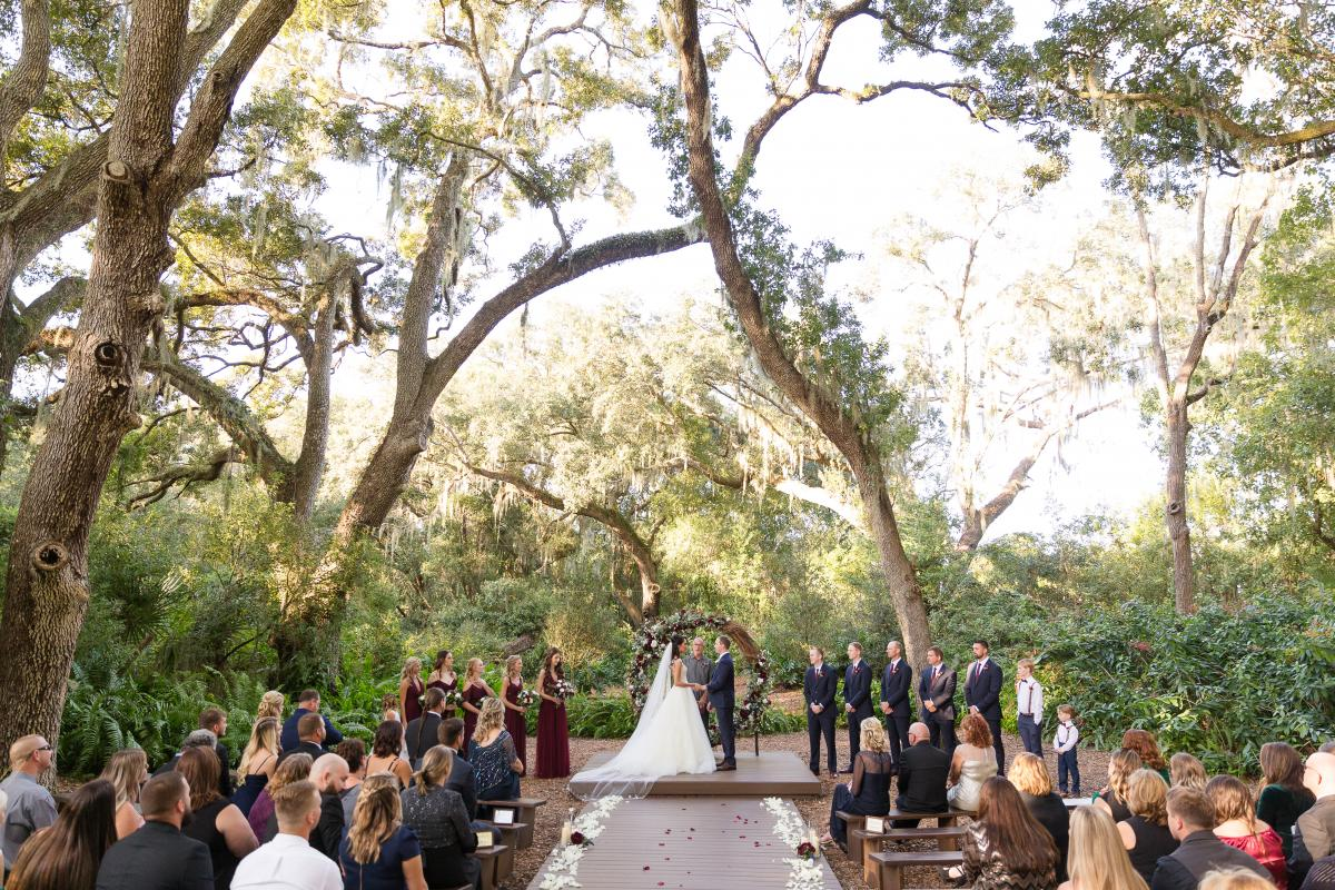 Enchanted Forest ceremony