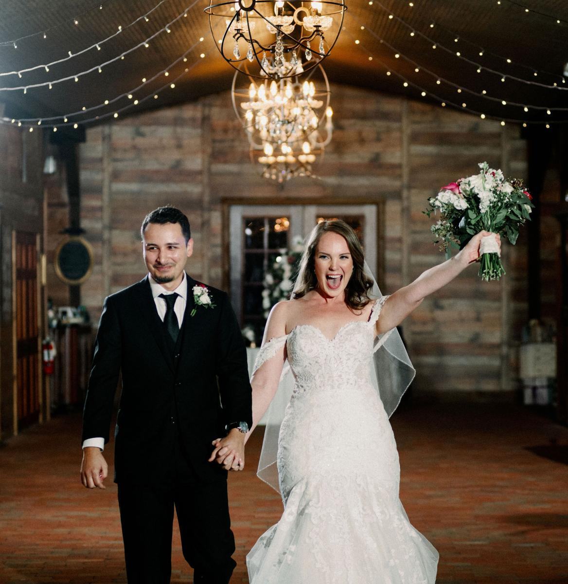 Wedding reception introduction