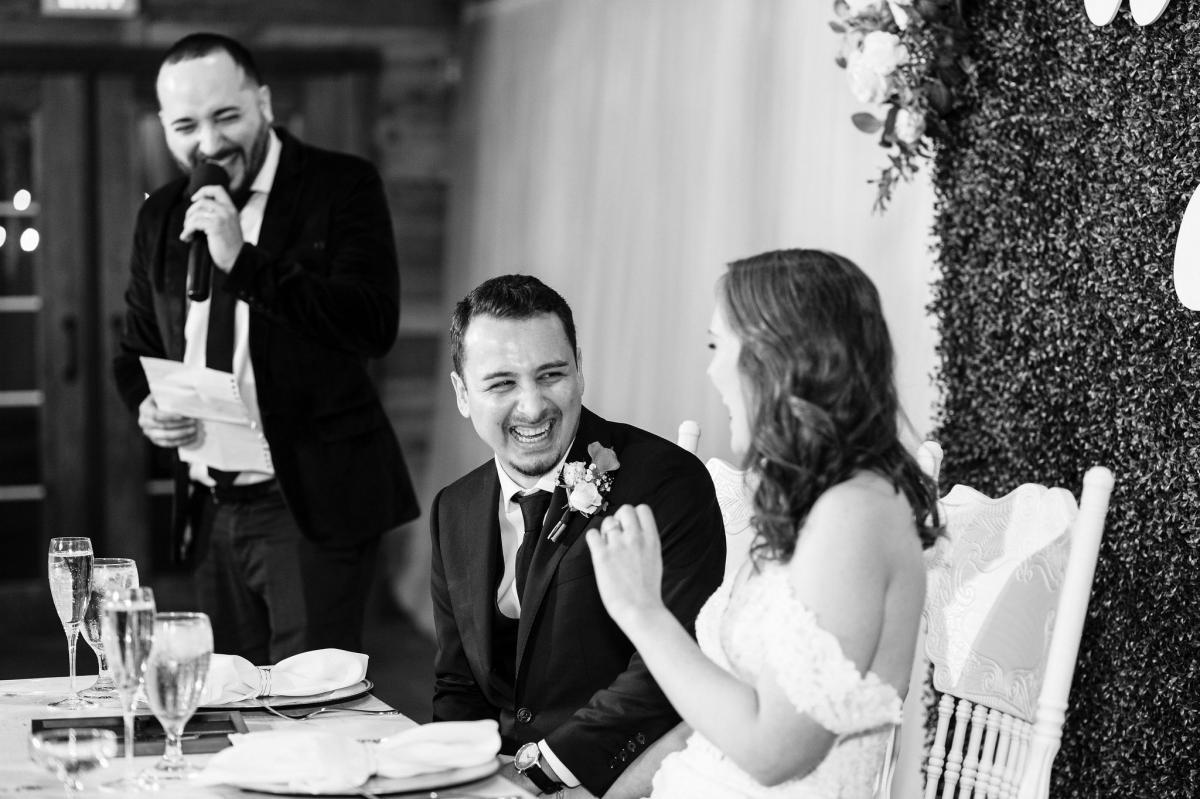 Funny wedding toasts