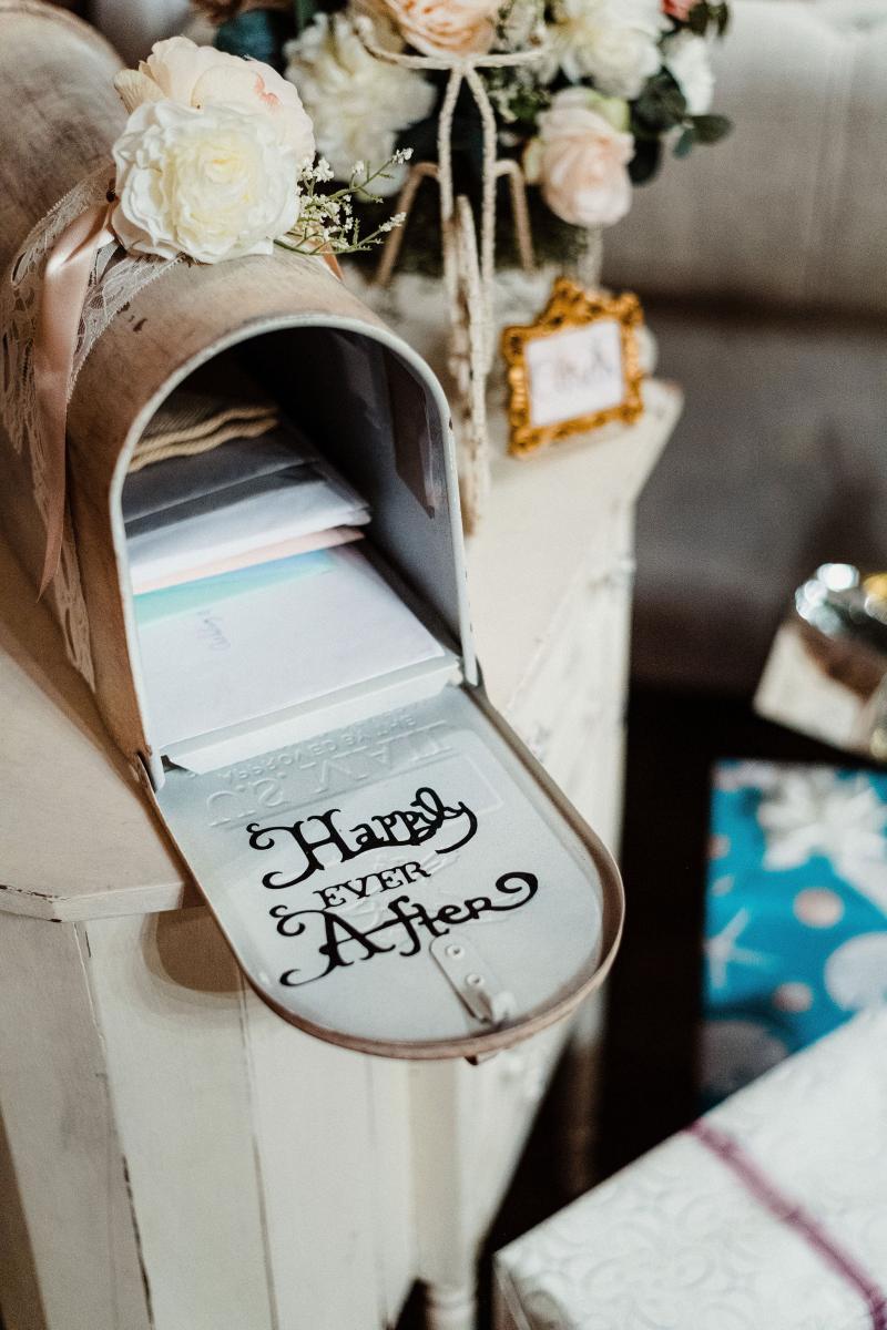 Wedding card box
