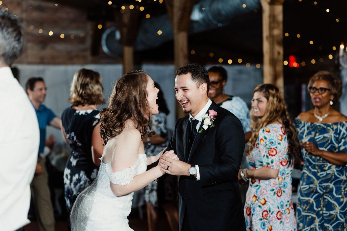 Wedding dances at the Carriage House Stable