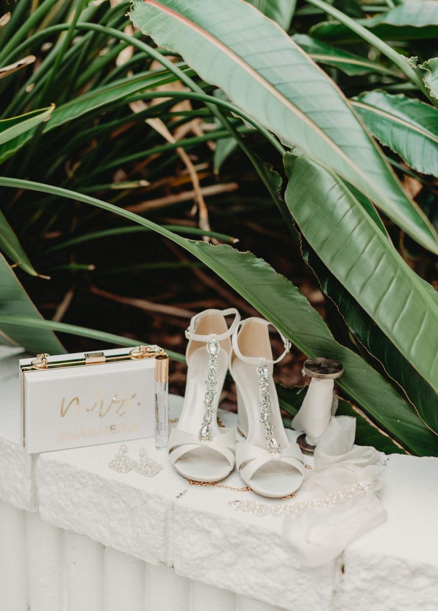 Brandy's wedding details