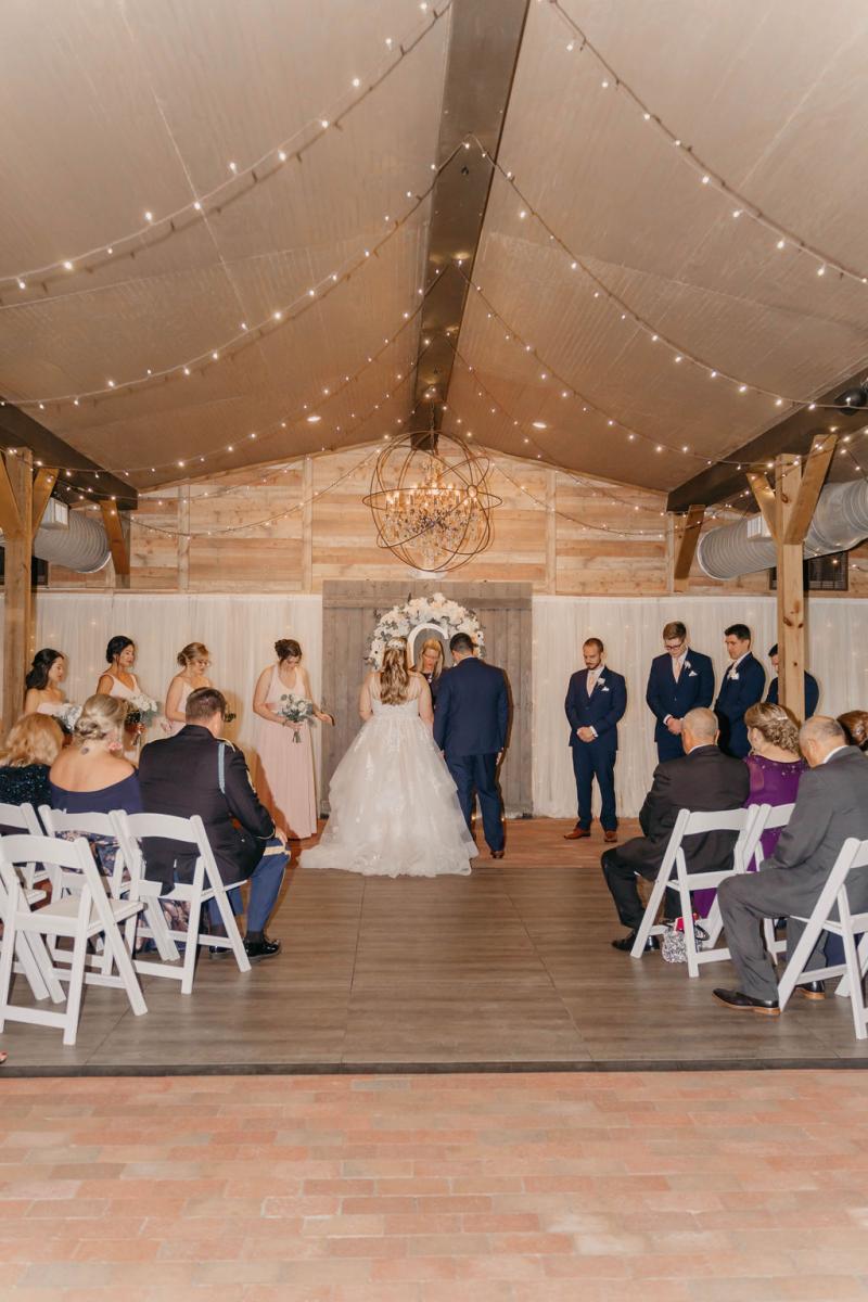 Intimate COVID-19 wedding