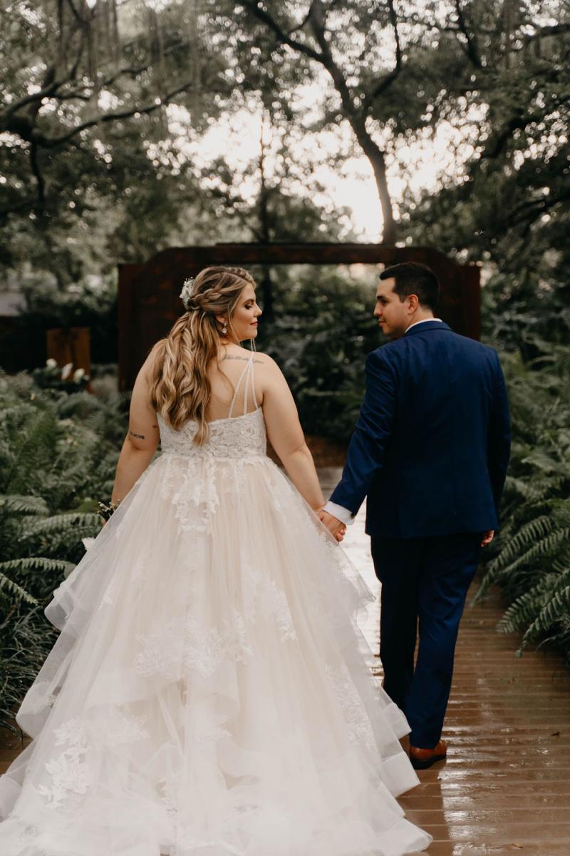 Real wedding at Florida's all inclusive barn wedding venue