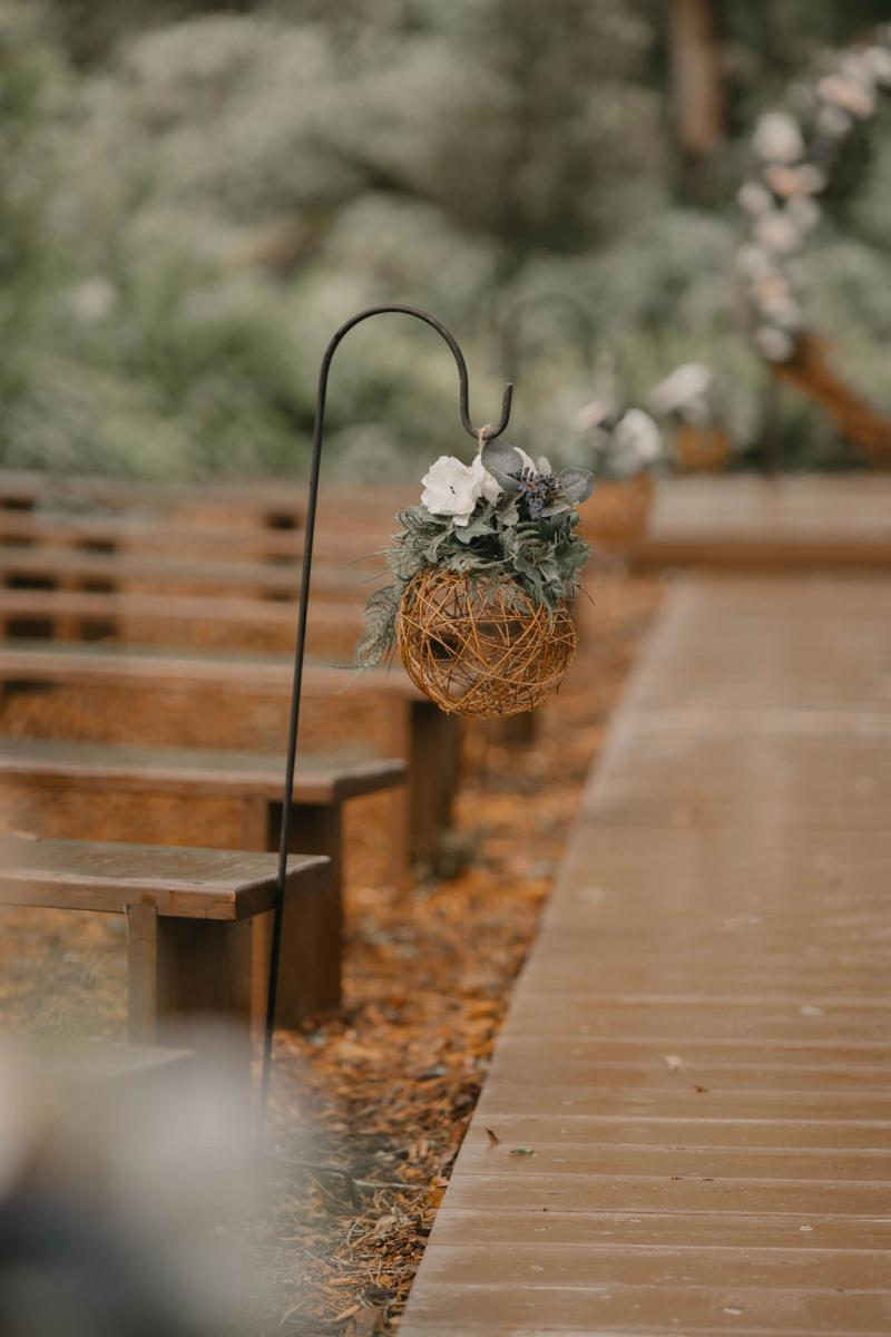 Enchanted Forest ceremony sites