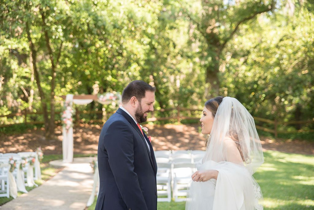 Kathleen and Stephen's first look