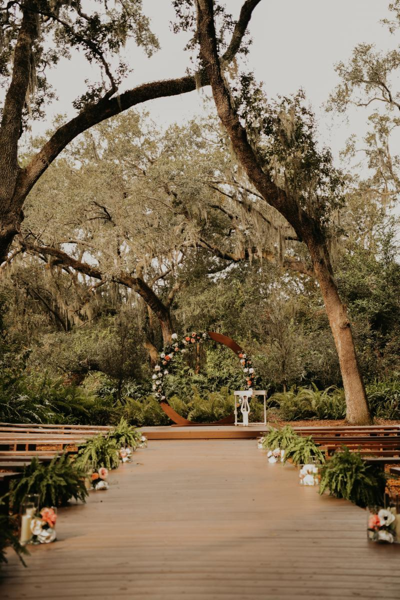 Florida forest wedding venue