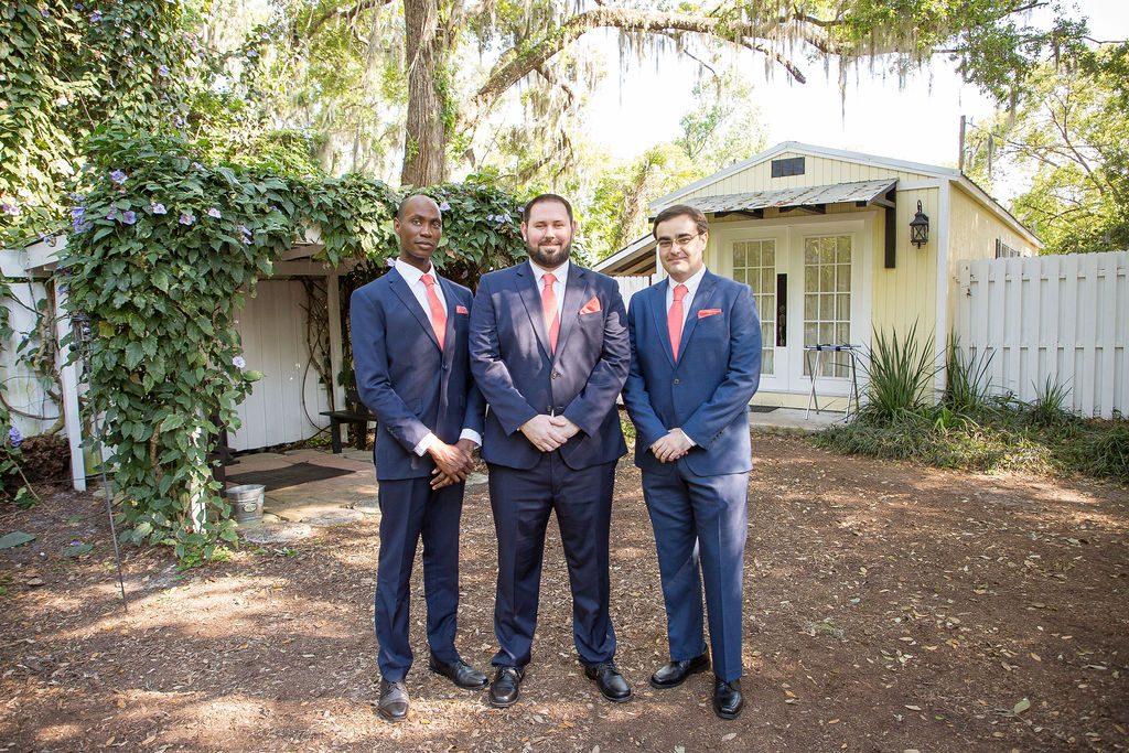 Stephen and his groomsmen