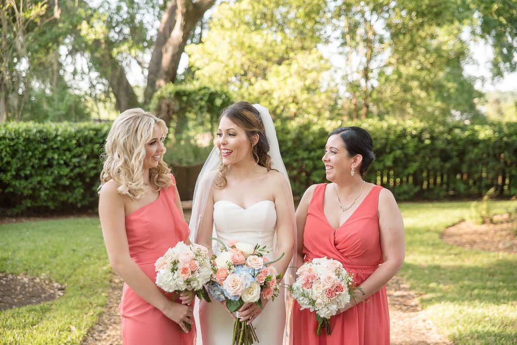 Kathleen and her bridesmaids